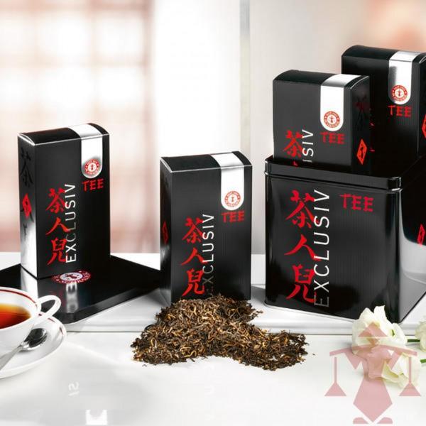 Schwarzer Tee Assam Schwarztee-Sortiment