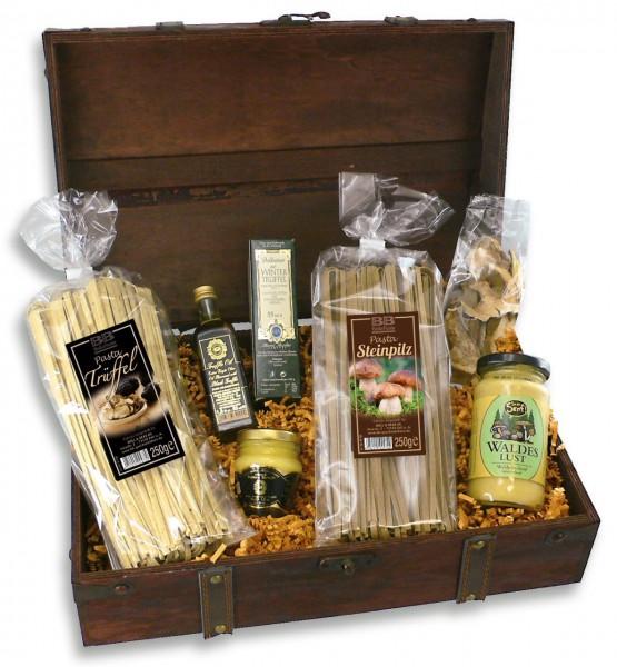 Geschenkset Schatzkiste Pasta & Co