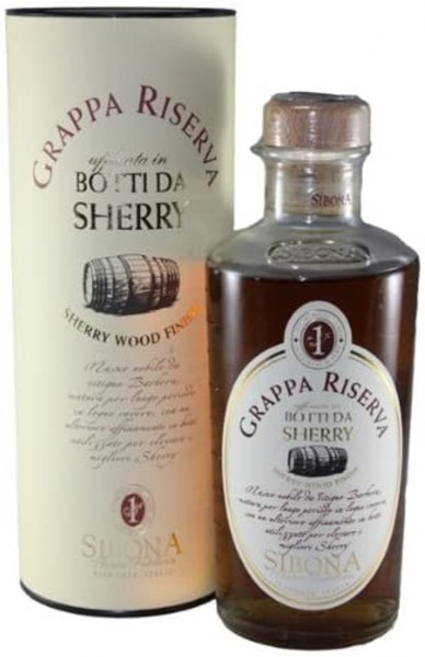Sibona Grappa in Sherry Wood