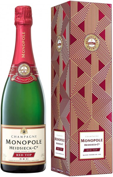 Heidsieck & Co. Monopole Red Top Sec Champagner