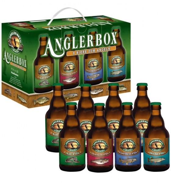 Angler Box Bier