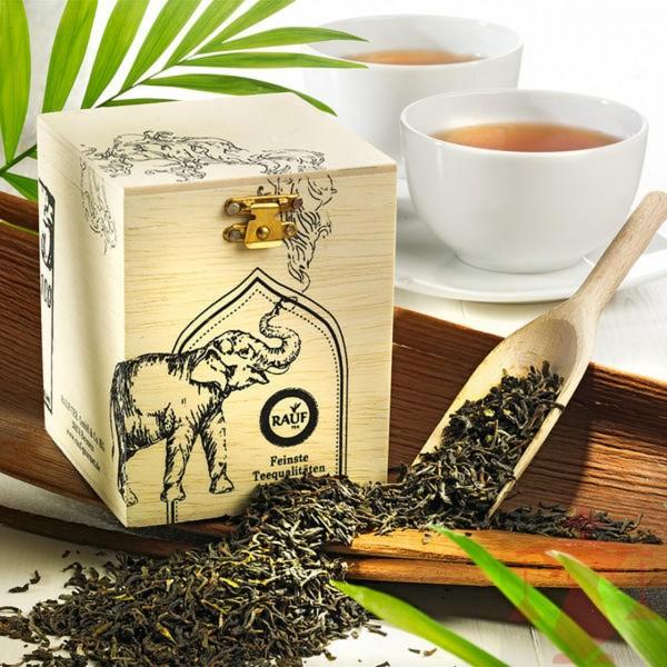 Rauf Tee Schwarzer Tee Darjeeling Blend Bio
