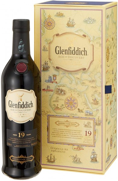 Glenfiddich Age of Discovery Madeira Cask 19J.
