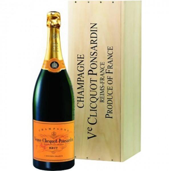 Veuve Clicquot Brut Champagner 3l Jeroboam