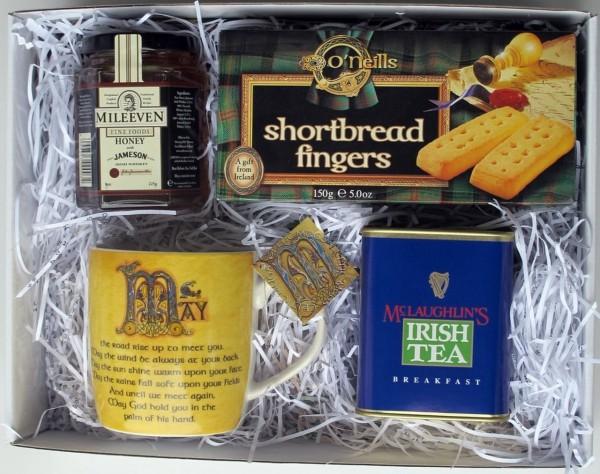 Traditionelles Irisches Teeset