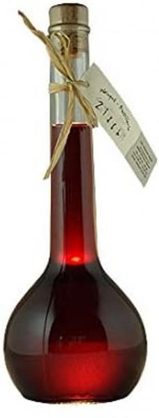 Schlehen-Likör in hochwertigen Geschenkflasche