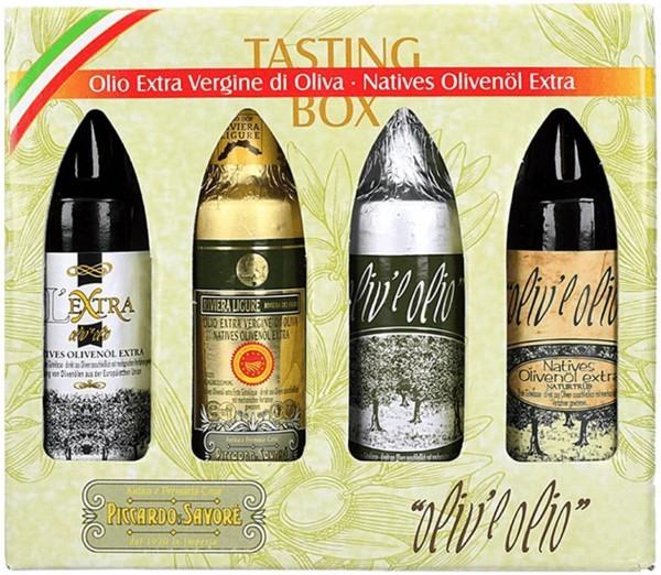 Natives Olivenöl extra aus Ligurien
