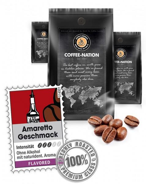 Coffee-Nation Aroma-Kaffee Amaretto