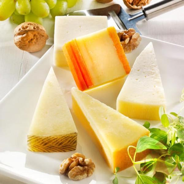 Spanische Käseplatte, 5 Sorten