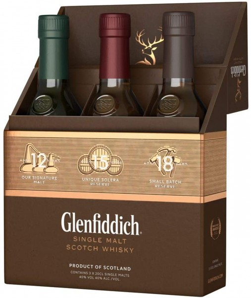 Glenfiddich Single Malt Scotch Whisky Collection
