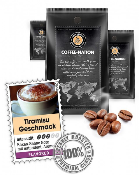 Coffee-Nation Aroma-Kaffee Tiramisu
