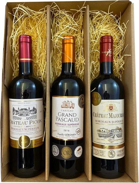 Geschenkset Bordeaux
