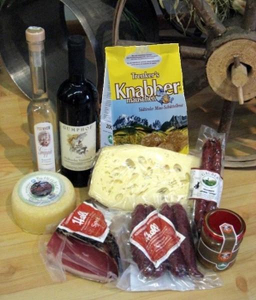 """Südtiroler Geschenkpaket """"Brettljause - Marende"""""""