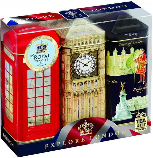 Explore London-English Breakfast Tee