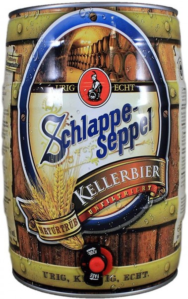 Schlappeseppel Kellerbier 5l Fass/Dose