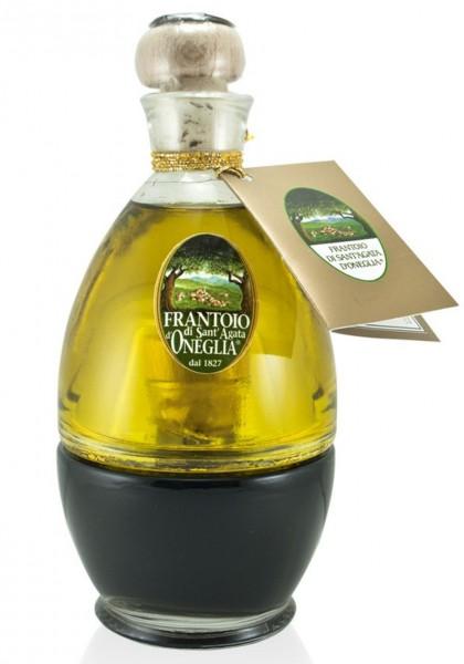 Extra Natives Olivenöl und Balsamico-Essig