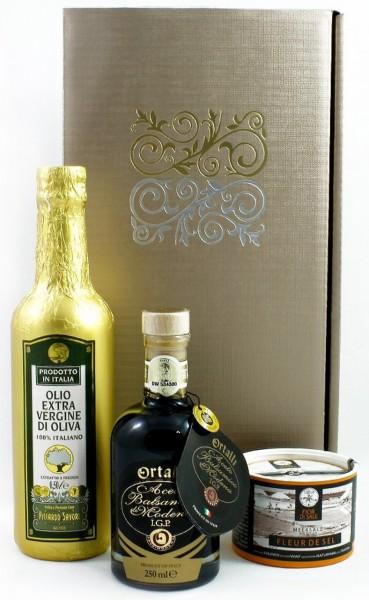 Schlemmerbox (Balsamico Essig&Olivenöl&Salz)