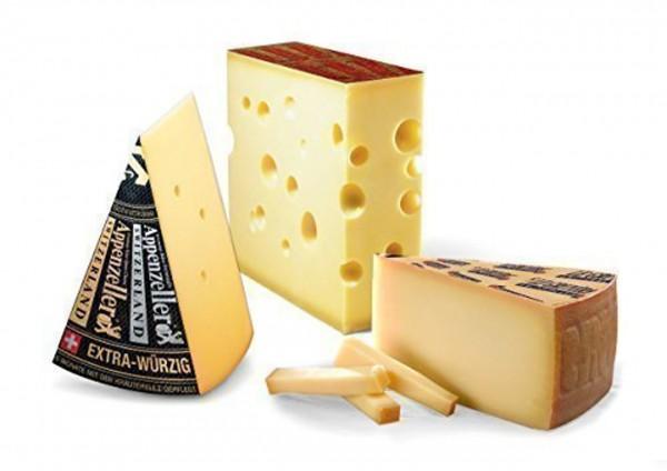 Schweizer Käse Set