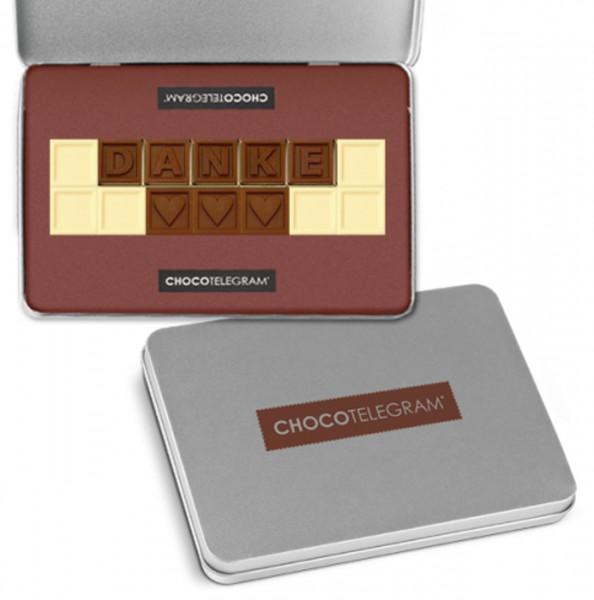"""Schokoladen-Telegramme """"DANKE"""""""