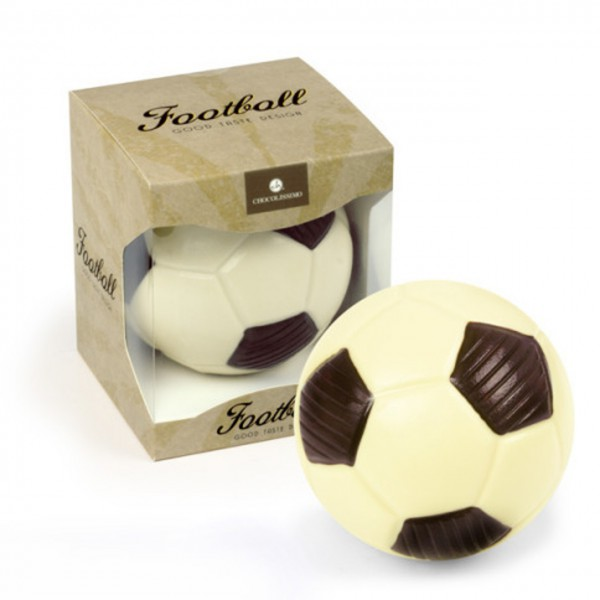ChocoBall Fußball aus Schokolade