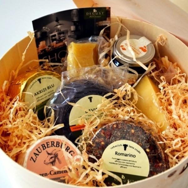 Käse Paket DEGUST Südtirol-Italien-Deutschland
