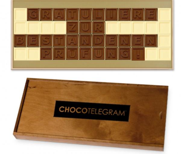 """Schokoladen-Telegramme """"GLÜCKWUNSCH"""""""