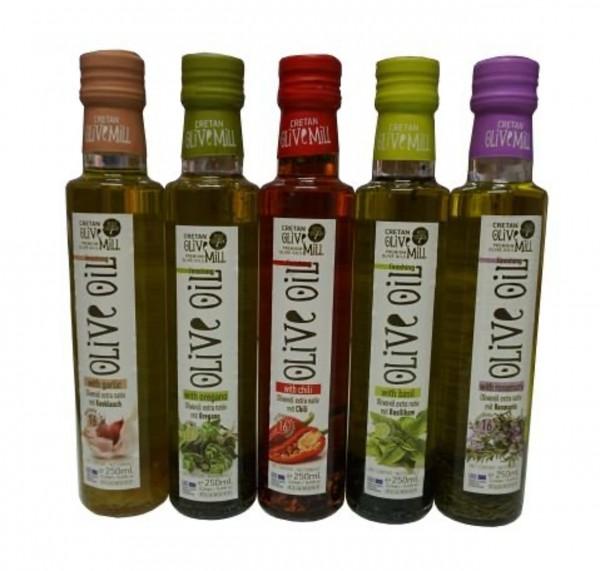 Flavour Olivenöl im Probier Geschenk Set