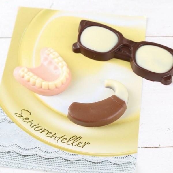 Schokoladen-Set SENIORENTELLER