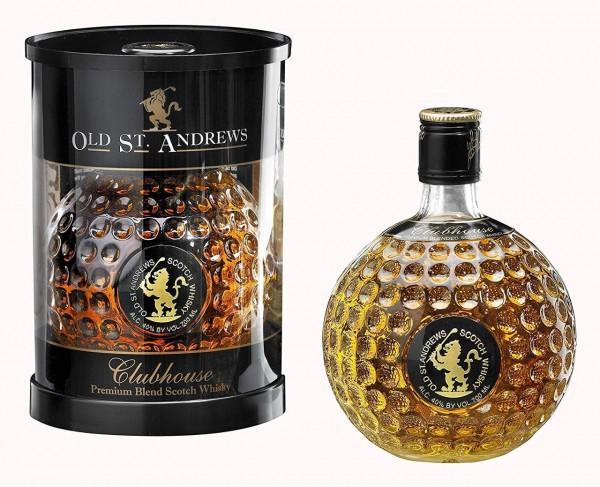 Scotch Whisky in der Golfball-Flasche
