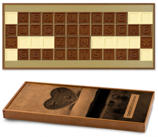"Schokoladen-Telegramme ""GEBURTSTAG"""