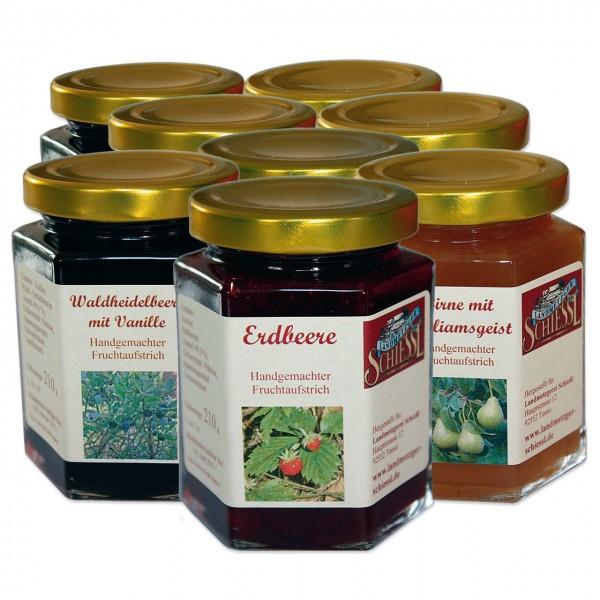 8 leckere Marmeladensorten