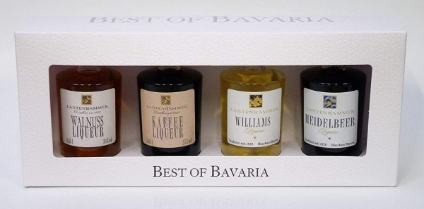 BEST OF BAVARIA - 4 Miniaturen LIQUEUR