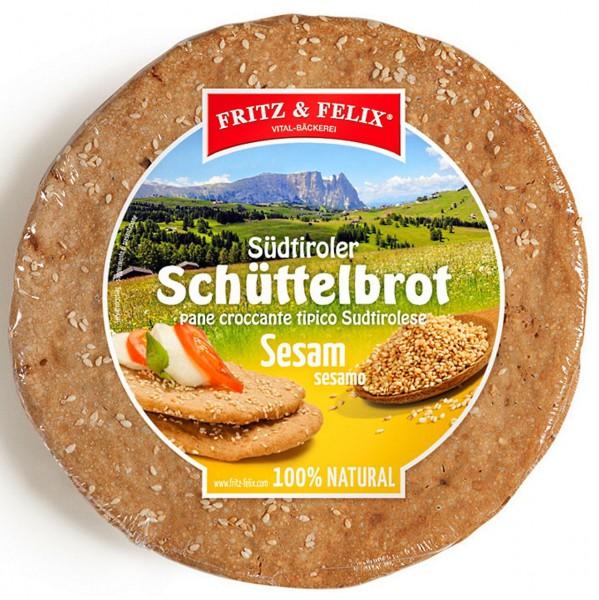 Sesam Schüttelbrot, 20 x 150 gr.