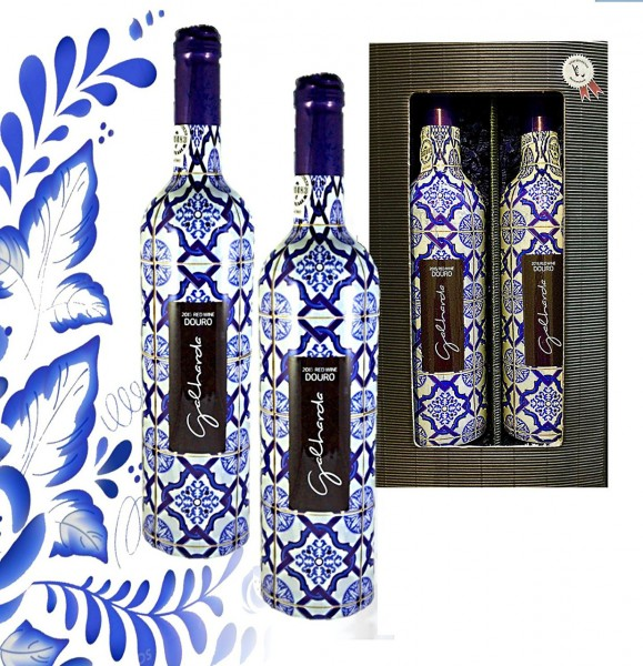100% Portugal Vintage Wein Set