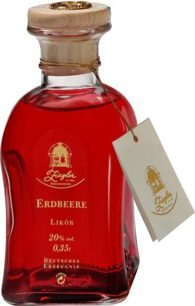 Ziegler Erdbeere Likör