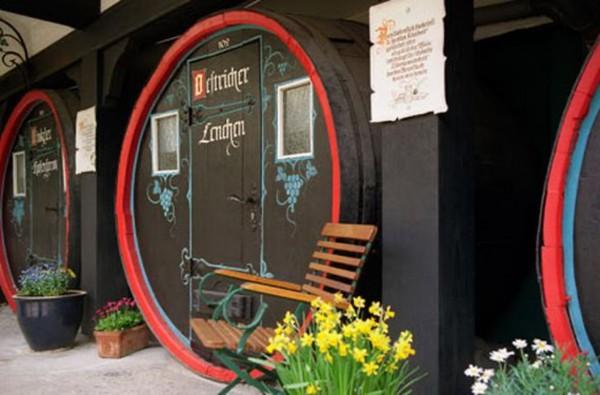 Übernachtung im Weinfass in Rüdesheim für 2