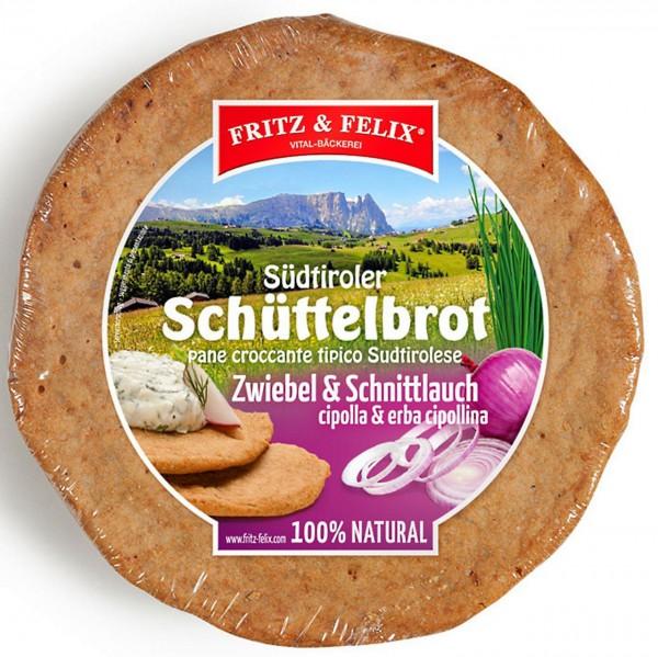 Zwiebel Schüttelbrot, 20 x 150 gr.