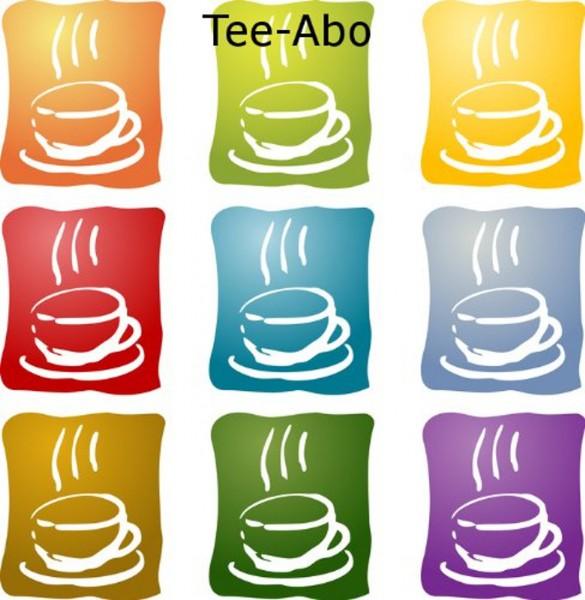 """Tee-Abo """"Überraschte Tasse"""""""