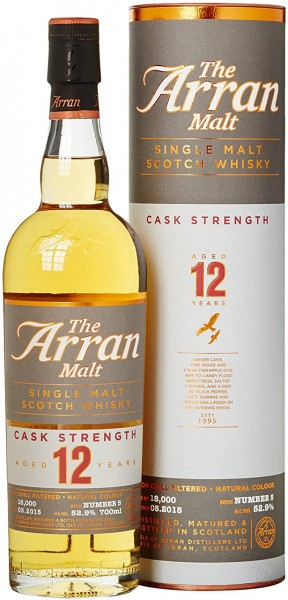 The Arran Malt 12yrs. Cask Strength
