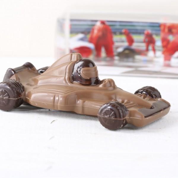 Schokoladen Auto Rennwagen Für Liebhaber Der Formel 1