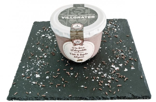 Leberpastete hausgemacht Villgrater 170 gr.