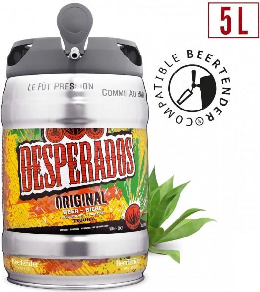 Desperados Bier mit Tequila