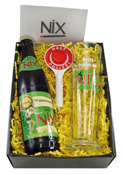 Geschenk Set NiX im Glas