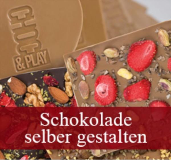 Schokolade selber gestalten