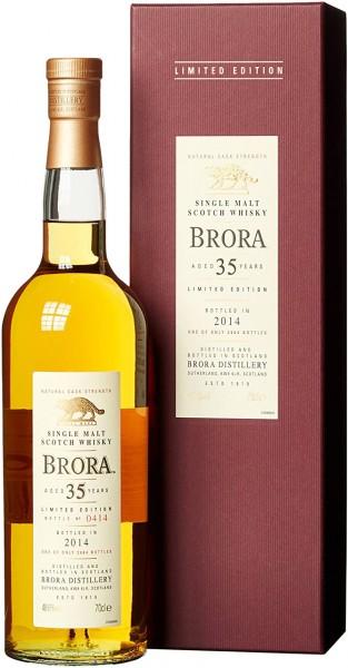 Brora Whisky 35 Jahre 2014