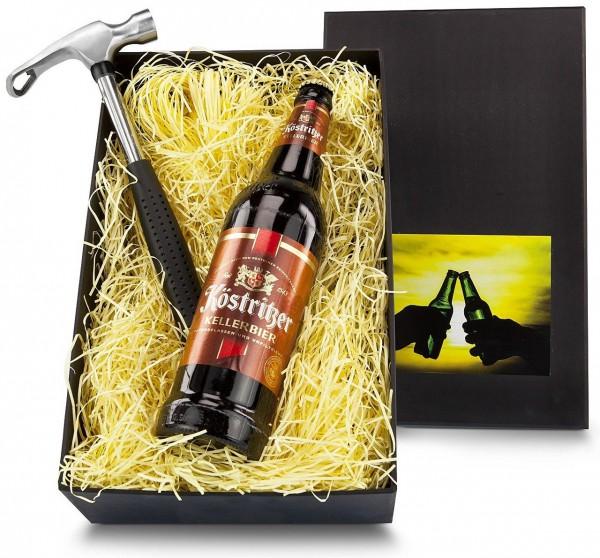 Das Männer-Geschenkset Bier & der Hammer-Bieröffner