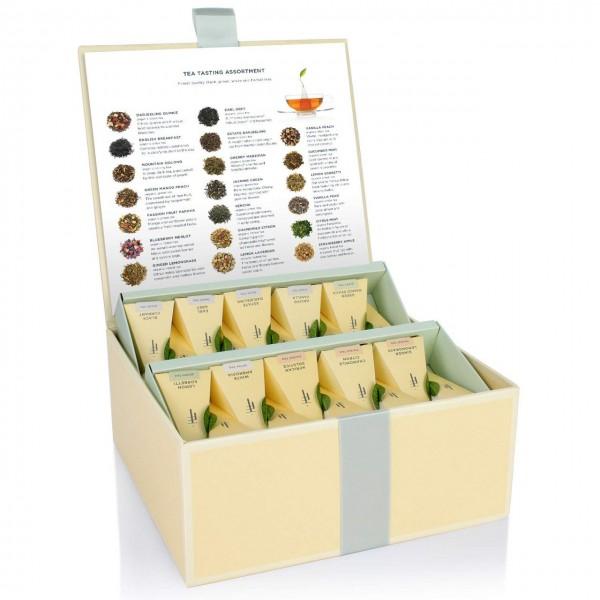 Geschenkbox mit 40 TeePyramiden