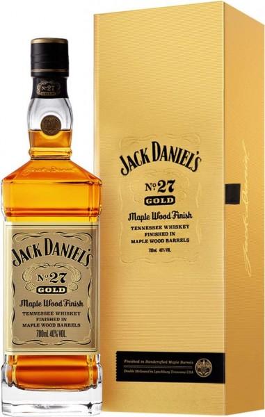 Jack Daniels Whiskey No. 27 Gold