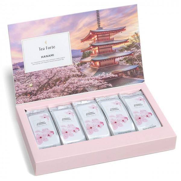 Tea Forté Single Steeps Hanami Sortiment