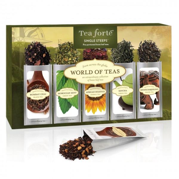 Tea forté Single Steeps World of Teas